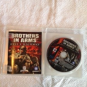 PS3 game brothers in arms